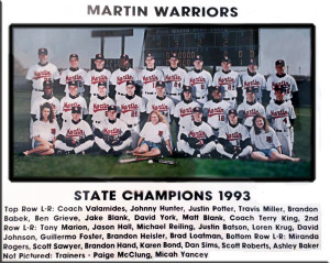 1993 State Champions